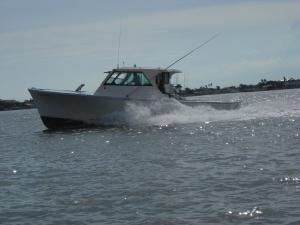 The Hustler Charter Boat