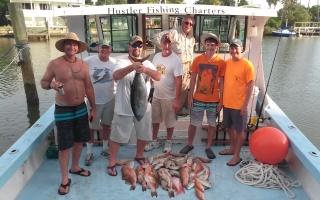 blackfin-tuna-and-mix-bag-of-snapper